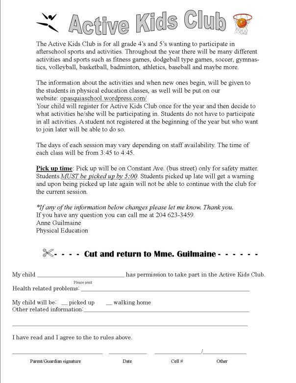 active-kids-club-registration-form